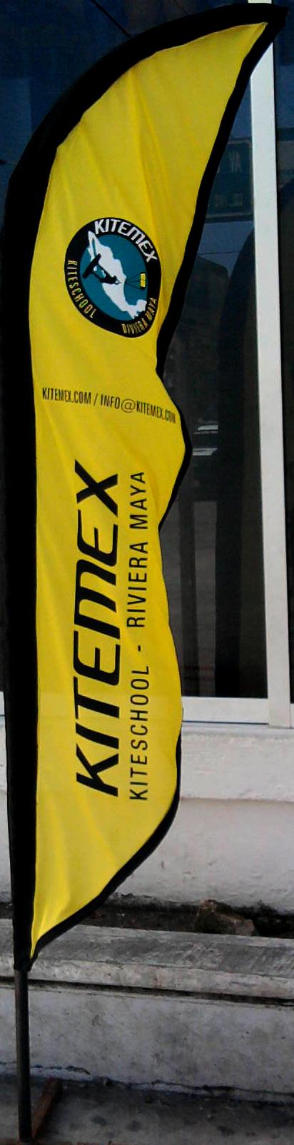 bandera kitemex diseño trafico